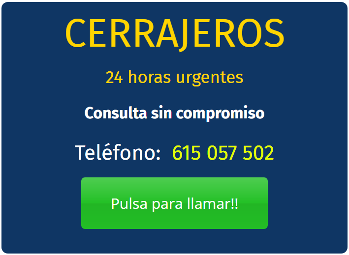 Cerrajeros Barrio de las letras 24 horas | Los más Baratos Urgentes